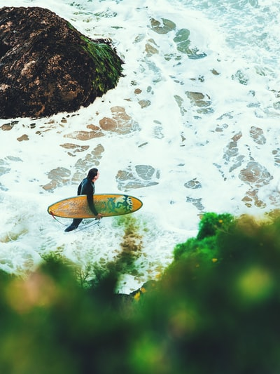 How to surf a new wave in the ocean without a paddle, and how to surf the new wave, without a paddling guide